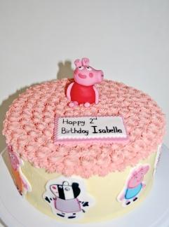 'Peppa pig' Lactose free cake
